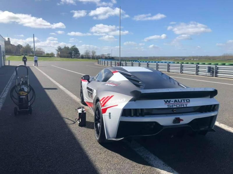 Ligier JS2R W-autosport circuit