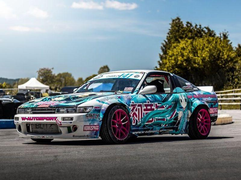 Nissan s13 sil80 drift